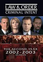 Cover image for Law & order, criminal intent The second year, 2002-2003 season