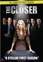 Cover image for The closer The complete first season