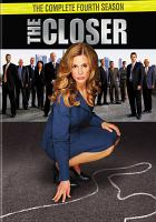 Cover image for The closer The complete fourth season