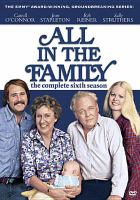 Cover image for All in the family  The complete sixth season
