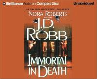 Cover image for Immortal in death