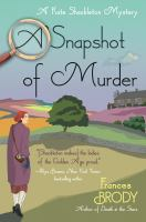 Cover image for A snapshot of murder