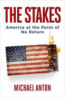 Cover image for The stakes : America at the point of no return