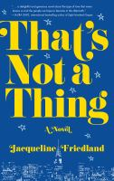Cover image for That's not a thing