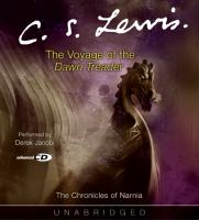 Cover image for The voyage of the Dawn Treader