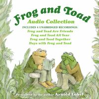 Cover image for Frog and toad audio collection