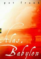 Cover image for Alas, Babylon