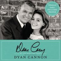 Cover image for Dear Cary my life with Cary Grant