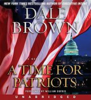 Cover image for A time for patriots