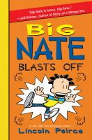 Cover image for Big Nate blasts off