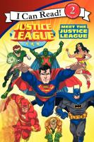 Cover image for Meet the Justice League