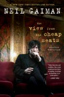 Cover image for The view from the cheap seats : selected nonfiction