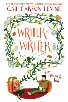 Cover image for Writer to writer From Think to Ink.