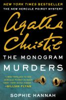 Imagen de portada para The monogram murders : the new Hercule Poirot mystery