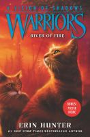 Cover image for Warriors,  a vision of shadows: River of fire