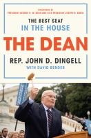 Cover image for The dean : the best seat in the House