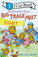Cover image for The Berenstain Bears Big Track Meet