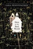 Cover image for Here in the real world