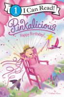 Cover image for Pinkalicious : Happy Birthday!