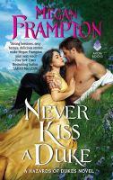 Cover image for Never kiss a duke