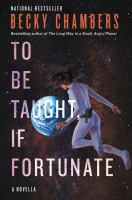 Cover image for To be taught, if fortunate