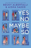 Cover image for Yes no maybe so