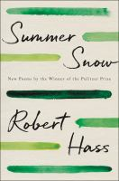 Cover image for Summer snow : new poems
