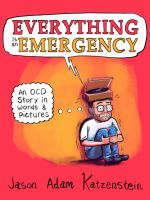 Cover image for Everything is an emergency : an OCD story in words and pictures