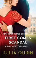 Cover image for First comes scandal