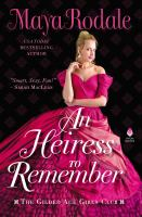 Cover image for An heiress to remember