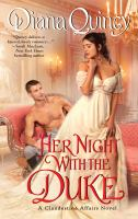 Cover image for Her night with the duke
