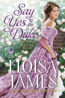 Cover image for Say yes to the duke