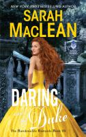 Cover image for Daring and the duke