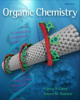 Cover image for Student solutions manual to accompany Organic chemistry, eighth edition
