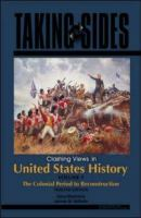 Cover image for Taking sides. Clashing views in United States history