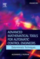 Imagen de portada para Deterministic techniques