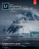 Cover image for Adobe Photoshop lightroom classic CC : 2019 release