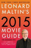 Cover image for Leonard Maltin's movie guide : 2015 edition : the modern era