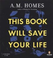 Cover image for This book will save your life