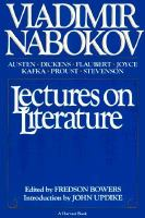 Imagen de portada para Lectures on literature