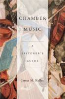 Cover image for Chamber music : a listener's guide