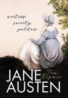 Cover image for Jane Austen : writing, society, politics