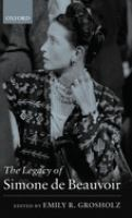 Cover image for The legacy of Simone de Beauvoir
