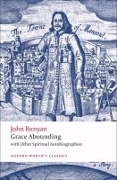 Cover image for Grace abounding with other spiritual autobiographies
