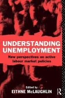 Cover image for Understanding unemployment new perspectives on active labour market policies
