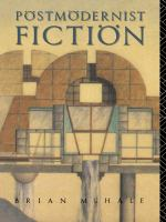 Cover image for Postmodernist fiction