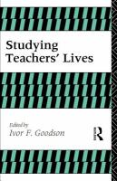 Cover image for Studying teacher's lives