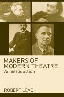 Cover image for Makers of modern theatre an introduction