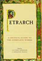 Cover image for Petrarch a critical guide to the complete works