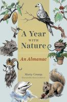 Cover image for A year with nature : an almanac